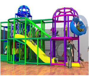 Indoor Playground System | Cheer Amusement 20140925-020-H-1