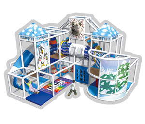 Ice Age Themed Indoor Playground System -Cheer Amusement CH-RS110069