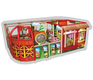 Farm Themed Themed Indoor Playground System | Cheer Amusement CH-RS110077