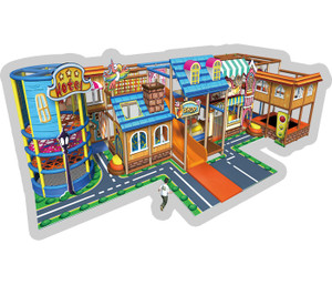 Western Town Themed Indoor Playground System | Cheer Amusement CH-RS130003