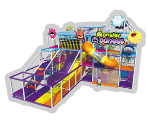 Little Monster Themed Indoor Playground System  | Cheer Amusement  CH-RS130004
