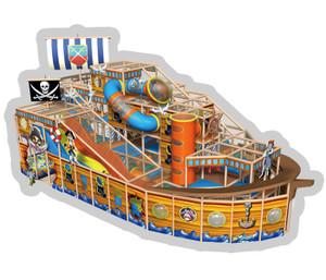 Pirateship Themed Indoor Playground | Cheer  Amusement  CH-RS130005