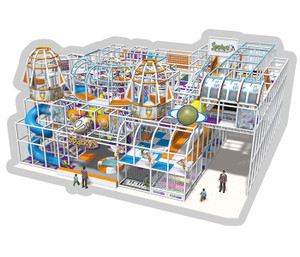 Outer Space Themed Indoor Playground System | Cheer Amusement  CH-RS130008