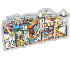 Middle East Themed Indoor Playground Sysytem | Cheer Amusement CH-RS130009