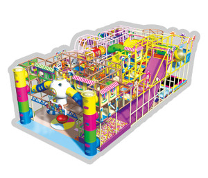Candy World Themed Indoor Playground System | Cheer Amusement CH-RS130012