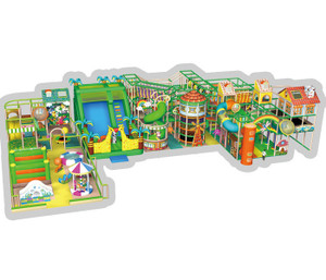 Clubhouse Themed Indoor Playground System | Cheer Amusement CH-RS130025