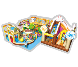 Candy World Themed Indoor Playground System | Cheer Amusement CH-RS130026
