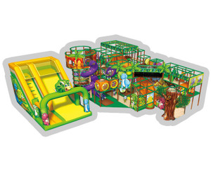 Dino Adventure Themed Indoor Playground System | Cheer Amusement CH-RS130027