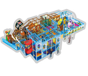 Castle & Pirateship Themed Indoor Playground System | Cheer Amusement CH-RS130028