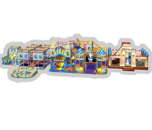 Magic Castle Themed Indoor Playground System | Cheer Amusement CH-RS130024
