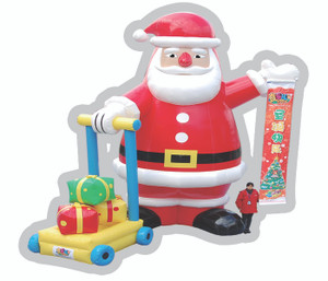 Inflatable Santa Indoor Playground System | Cheer Amusement CH-IP110336