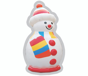 Airtight Snowman Indoor Playground System | Cheer CH-IW120017
