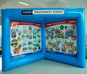 Airtight Advertisement Frame Indoor Playground System | Cheer Amusement CH-IW120015