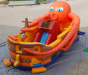 Octopus Slide Indoor Playground System | Cheer Amusement CH-IS140245