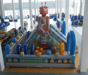 Robot Slide Indoor Playground System | Cheer Amusement CH-IF140019
