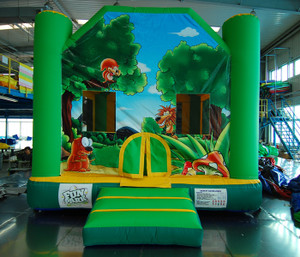 Jungle Bouncer Indoor Playground System | Cheer Amusement CH-IB120110