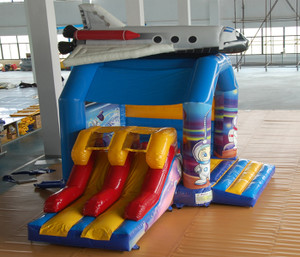 Space Bouncer with Slides Playground System | Cheer Amusement CH-IC140018