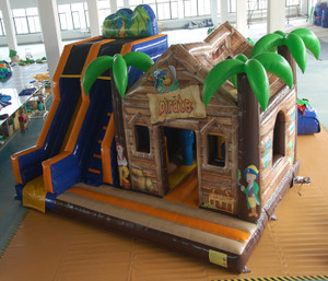 Pirate Bouncer with Slides Playground System | Cheer Amusement CH-IC140012