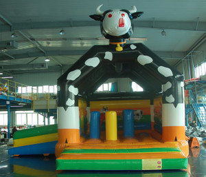 Cow Bouncer with Slide Playground System | Cheer Amusement CH-IC130004