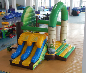 Jungle Bouncer with with Slides Playground System | Cheer Amusement CH-IC140025