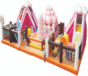 Candy Bouncer with Slides Playground System | Cheer Amusement CH-IF120214