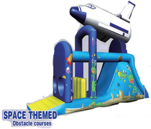 Outer Space Obstacle Playground System | Cheer Amusement CH-IO120010