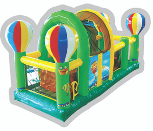 Hot Air Balloon Obstacle Playground System | Cheer Amusement CH-IO120008