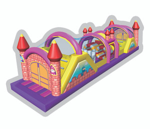 Castle Obstacle Playground System | Cheer Amusement CH-IO120012