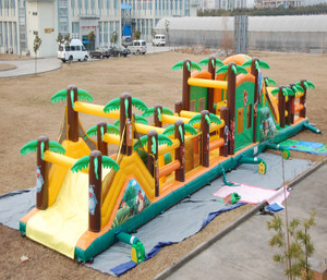 Jungle Obstacle Course Playground System | Cheer Amusement CH-IO100043