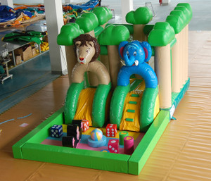 Jungle Fun City Playground Indoor Playground System | Cheer Amusement CH-IF140011