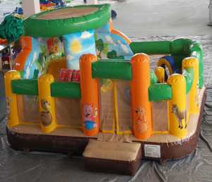 Village Inflatable Indoor Playground System | Cheer Amusement CH-IF140001