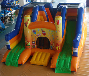 Party Double Slide Indoor Playground System | Cheer Amusement CH-IS140248
