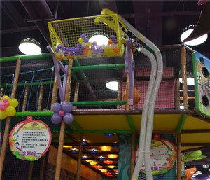 Dumping Basket Indoor Playground System | Cheer Amusement CH-EC110021