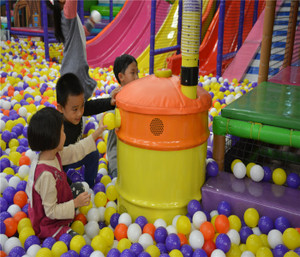 Ball Blower Indoor Playground System | Cheer Amusement CH-EC20150112