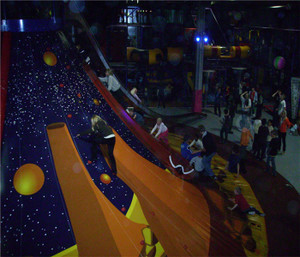 Space Themed Volcano Indoor Playground System | Cheer Amusement CH-VC20150112-2