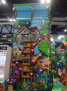 Tree Soft Climbing Wall Indoor Playground System | Cheer Amusement CH-CW20150112-5