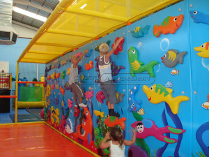 Ocean Themed Climbing Wall Indoor Playground System | Cheer Amusement CH-CW20150112-6