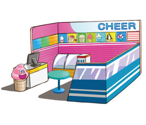 Ice Cream House Indoor Playground System | Cheer Amusement CH-RP150002