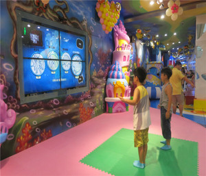 Interactive Indoor Play Equipment  Dynamic Stage