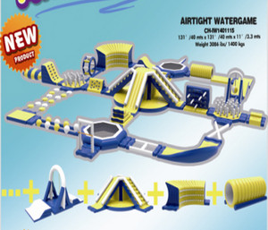 Airtight Watergame Indoor Playground System | Cheer Amusement CH-IW1401115