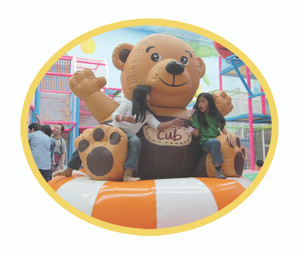 Mechanical Revolving Bear Indoor Playground System | Cheer Amusement CH-II100208C