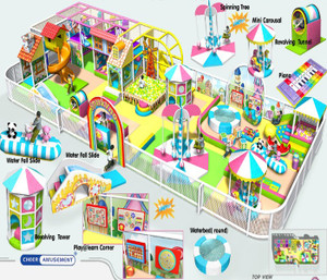 Kids in motion softplay Indoor Playground System | Cheer Amusement 20121102-004-B-2