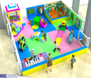 Kids in motion toddler Indoor Playground System | Cheer Amusement 20131121-020-B-2