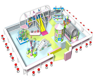 Motion Softplay Sample Design-1 Indoor Playground System | Cheer Amusement CH-MSS20150112-1