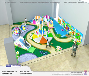 Motion Softplay Sample Design-2 Indoor Playground System | Cheer Amusement CH-MSS20150112-2
