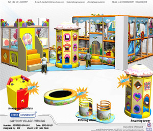Motion Softplay Sample Design-5 Indoor Playground System | Cheer Amusement CH-MSS20150112-5
