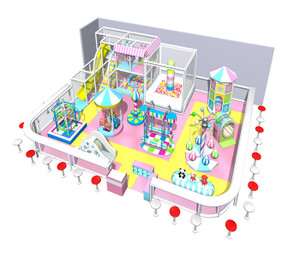 Motion Softplay Sample Design-6 Indoor Playground System | Cheer Amusement CH-MSS20150112-6