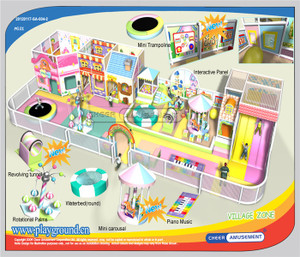 Motion Softplay Sample Design-8 Indoor Playground System | Cheer Amusement CH-MSS20150112-8