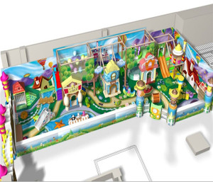 Motion Softplay Sample Design-12 Indoor Playground System | Cheer Amusement CH-MSS20150112-11