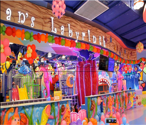 Theme Park  Undersea World Indoor Playground System Indoor  Play Equipment